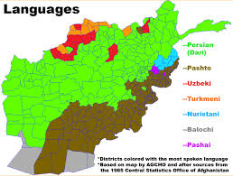 map in language file map of languages in districts in afghanistan jpg