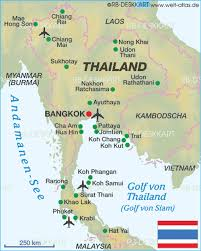 map of hat yai map of thailand thailand map in the atlas of the world world