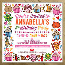Invations Personalised Party Invitations Notonthehighstreet Com