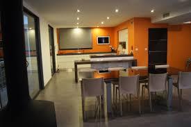 cuisine orange et gris herrlich peinture salon orange et gris plus de 20 couleurs canons