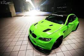 Bmw M3 Yellow Green - lime green bmw e92 m3 coupe by ipe and liberty walk gtspirit