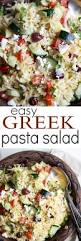 greek pasta salad easy healthy recipes using real ingredients