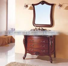 Dresser Style Bathroom Vanity by Red Bathroom Vanity Antique Style Bathroom Vanity Bathroom Sinks