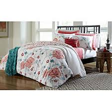 Orange And White Comforter Set Comforters Comforter Sets Sears