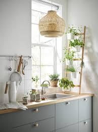 ikea light oak kitchen cabinets a harmonious grey green bodarp kitchen ikea ca