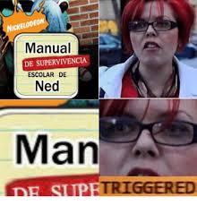 Ned Meme - nickelodeon manual de supervivencia escolar de ned man de