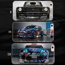 hoonigan cars real life ken block ford hoonigan drift rally car case cover for iphone 4 5