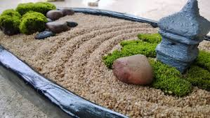 black oval mini zen garden diy stress pinterest mini zen