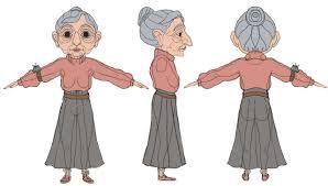 the model sheet for my character poppy she busra ozkaya