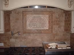 Kitchen  Noce Travertine Tile Backsplash Countertop Tile Edging - Noce travertine tile backsplash