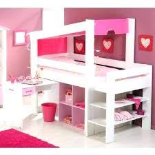 chambre fille avec lit mezzanine mezzanine bureau enfant merveilleux lit mezzanine bureau enfant