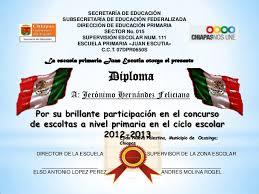diplomas de primaria descargar diplomas de primaria diploma escolta 3 1