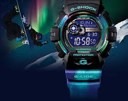 light blue g shock watch casio g shock shows off watches inspired by the northern lights