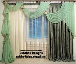 unusual draperies stunning unique curtain ideas decor with curtains white and green