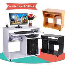 Beech Computer Desk by Computer Desk Mdf Board Home Office Pc Table Work Station Home