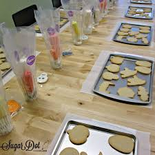 sugar dot cookies cookie decorating party halloween 2014