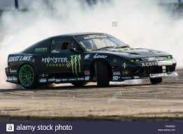 subaru wrx drift car corby northamptonshire uk 13th march 2016 monster energy