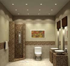 Recessed Vanity Lighting Bathroom Recessed Lighting Placement Attractive Modern Ideas For