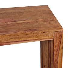 Schreibtisch Naturholz Finebuy Konsolentisch Massivholz Design Konsole Schreibtisch 115 X