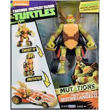 teenage mutant ninja turtles figure vehicle michelangelo