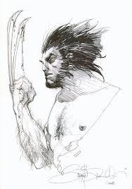 wolverine sketch by simone bianchi snikt art pinterest