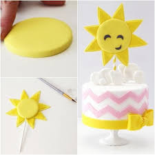 best 25 sun cake ideas on pinterest cupcake toppers fondant