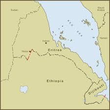 Map Of Ethiopia A Map Of The Eritrea Ethiopia U0026 Dijibouti Border Disput U2026 Flickr