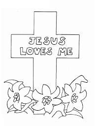 jesus color pages and jesus loves me printable coloring pages