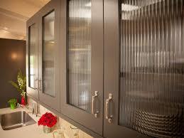 Black Glass Cabinet Doors Home Design Kitchen Design Magnificent Black Glass Cabinet