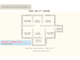 floor plans 1000 square home plan and elevation 1000 sq ft home appliance
