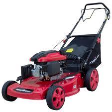 powersmart 22 in 3 in 1 196cc gas self propelled walk behind lawn
