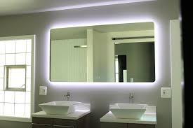 Lit Bathroom Mirror Backlit Bathroom Mirror Windbay Backlit Led Light
