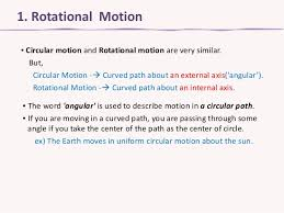 1 rotional motion