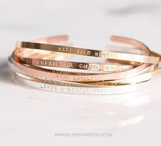 personalized cuff bracelet personalized cuff bracelet mantra bracelet dainty thin cuff