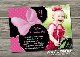 colors tips easy to create minnie mouse birthday invitations