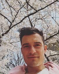 orlando bloom cherry blossoms bloom
