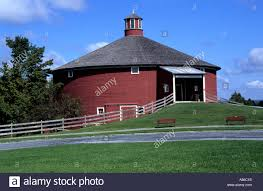 united states usa vermont farmer house shelburne stock photo