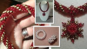 beading necklace clasp images Superduo spiral and a toggle clasp beading tutorial by honeybeads1 jpg