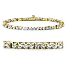 yellow gold bracelet with diamond images Yellow gold diamond tennis bracelets jpg