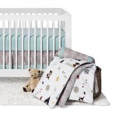Jojo Crib Bedding Set Sweet Jojo Designs Outdoor Adventure 11pc Crib Bedding Set Gray