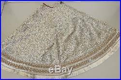 white tree skirt new strongwater heritage jeweled christmas tree skirt white velvet