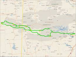 Skyline Drive Map Arkansas Suggested Riding Routes