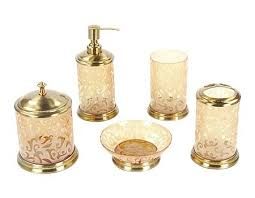 Contemporary Bathroom Accessories Sets - fancy designer bathroom accessories and bathroom accessory sets