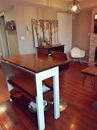 diy drop leaf table diy drop leaf kitchen island cart bachelor on a budget