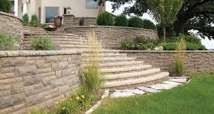 retaining walls fox valley stone u0026 brick