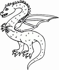 dragon coloring pages kids coloring