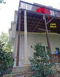 how to remove a deck post in concrete
