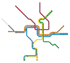 Map Metro Chicago by Quiz Can You Name These Cities Just By Looking At Their Subway