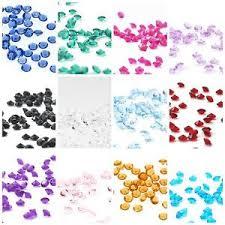 gems for table decorations wedding table decorations crystal diamonds confetti diamante gems