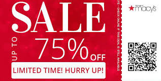 save upto 75 on everything at macy s one day sale web busters